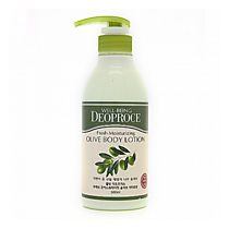 Лосьон для тела, Олива Deoproce Well-Being Fresh Moisturizing Olive Body Lotion Olive 500 мл